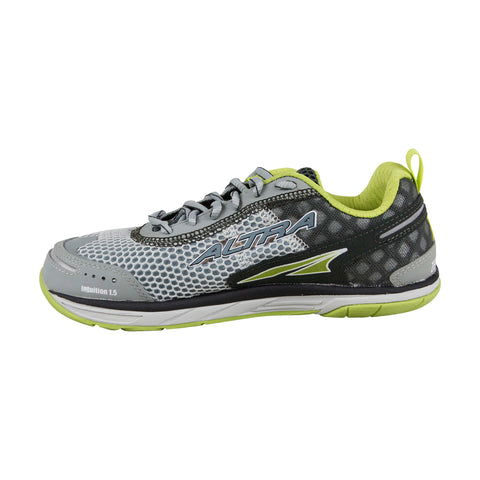 Altra The Intution 1.5 Womens Gray Mesh Athletic Lace Up Running Shoes