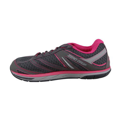 Altra Provisioness Womens Gray Mesh Athletic Lace Up Running Shoes