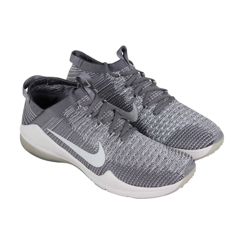 Nike Air Zoom Fearless Fk 2 Womens Gray Textile Athletic Training Shoes