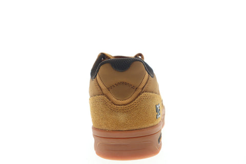 DC Maswell ADYS100473 Mens Brown Suede Lace Up Athletic Skate Shoes