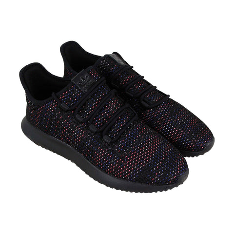 outlet store 39798 8c020 Adidas Tubular Shadow Ck Mens Black Textile Low Top Lace Up ...