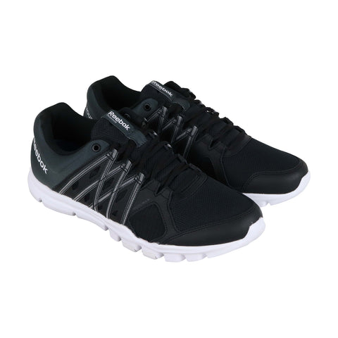 Reebok Yourflex Train 8.0 Lmt S Mens Black Textile Athletic Training Shoes