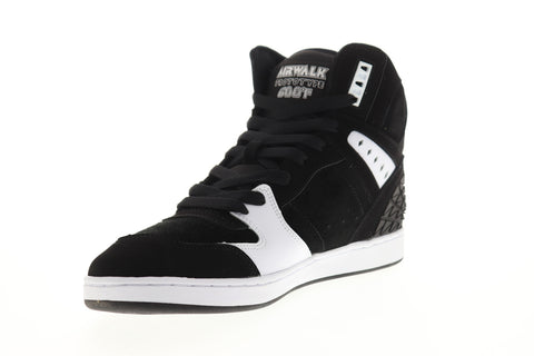 Airwalk Prototype 600 AW00226-002 Mens Black Suede Surf Skate Sneakers Shoes