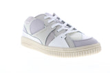 Airwalk Han X AW00401-020 Mens White Leather Low Top Skate Sneakers Shoes