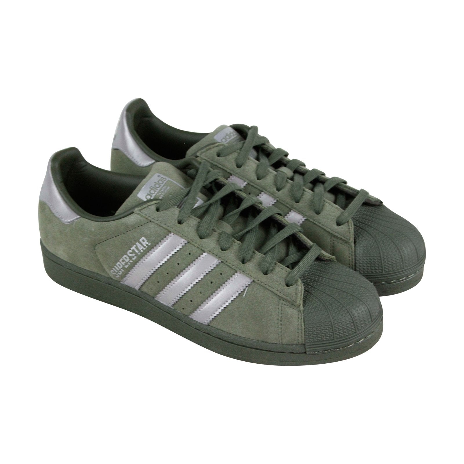 B41988 Mens Green Suede Lace