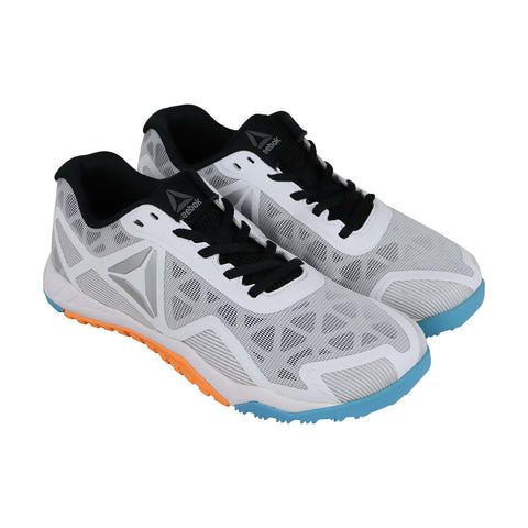 Reebok Ros Workout Tr 2.0 Mens White Synthetic Athletic Lace Up Training Shoes