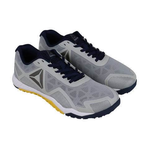 Reebok Ros Workout Tr 2.0 Mens Gray Synthetic Athletic Lace Up Training Shoes