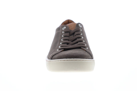 Bruno Magli Walter Mens Brown Suede Low Top Lace Up Sneakers Shoes