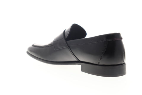 Bruno Magli Calabria BM600283 Mens Black Loafers & Slip Ons Penny Shoes