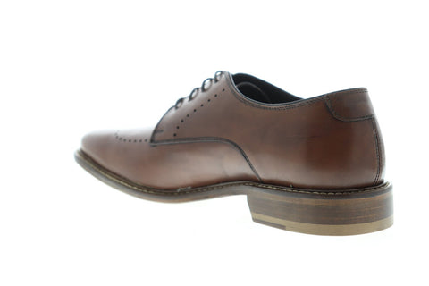 Bruno Magli John Mens Brown Leather Casual Dress Lace Up Oxfords Shoes