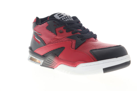 British Knights Control Mid BMCONML-633 Mens Red Lifestyle Sneakers Shoes