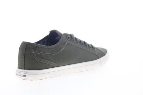 Ben Sherman Chandler LO BNM00017 Mens Green Canvas Lifestyle Sneakers Shoes