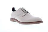 Ben Sherman Birk Plain Toe BNM00022 Mens Beige Tan Canvas Low Top Oxfords Shoes