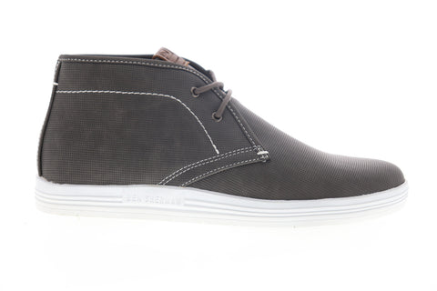 Ben Sherman Payton Chukka BNM00037 Mens Gray Canvas Lifestyle Sneakers Shoes