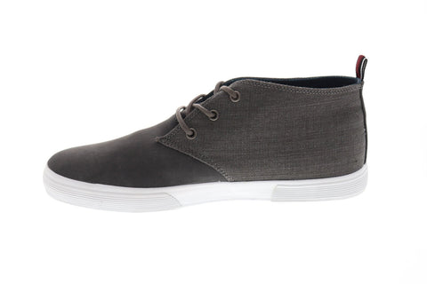Ben Sherman Bradford Mens Gray Suede Low Top Lace Up Sneakers Shoes