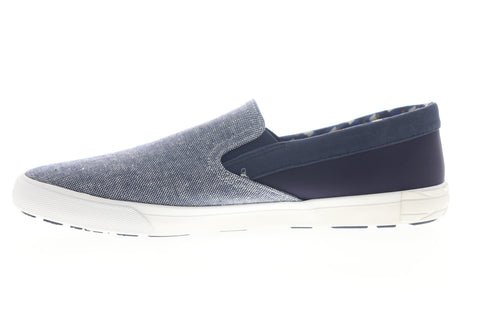 Ben Sherman Percy Slip On BNM00104 Mens Blue Canvas Lifestyle Sneakers Shoes