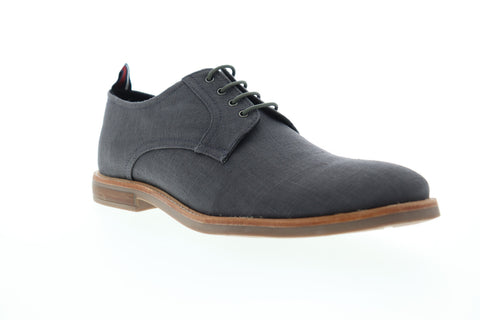 Ben Sherman Brent Plain Toe BNM00122 Mens Gray Canvas Low Top Oxfords Shoes