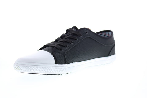 Ben Sherman Madison Ox Mens BNM00163 Black Lace Up Lifestyle Sneakers Shoes