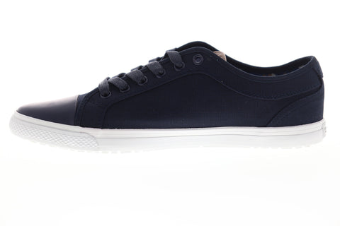 Ben Sherman Madison OX BNM00163 Mens Blue Canvas Plaid Lifestyle Sneakers Shoes