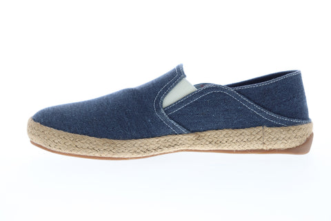 Ben Sherman Prill Heel Slip BNMS19001 Mens Blue Canvas Lifestyle Sneakers Shoes