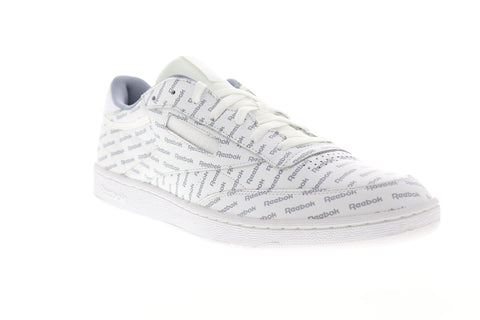 Reebok Club C 85 SO BS5215 Mens White Leather Lace Up Lifestyle Sneakers Shoes