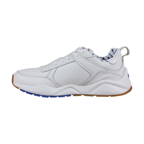 champion 93 eighteen cm100040m mens white leather casual
