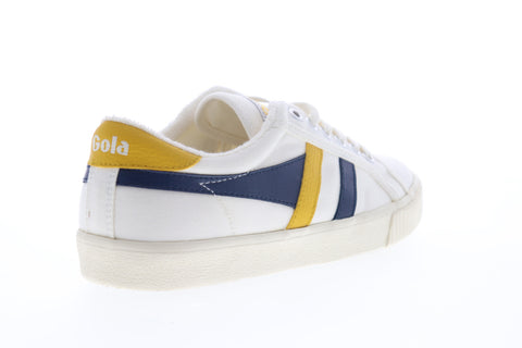 Gola Tennis Mark Cox CMA280 Mens Beige Tan Canvas Lifestyle Sneakers Shoes
