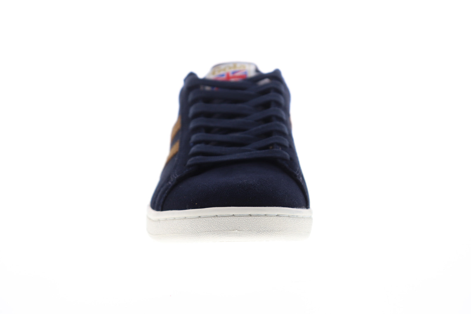 Gola Equipe Suede CMA495 Mens Blue Low Top Lace Up Lifestyle Sneakers Shoes