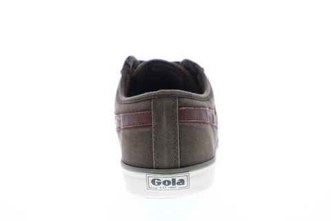 Gola Comet Mens Brown Canvas Low Top Lace Up Sneakers Shoes