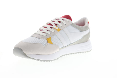 Gola Toronto CMA559 Mens White Mesh Lace Up Lifestyle Sneakers Shoes