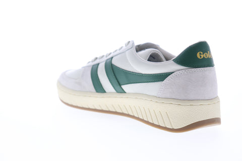 Gola Grandslam 78 CMA565 Mens White Leather Lace Up Lifestyle Sneakers Shoes
