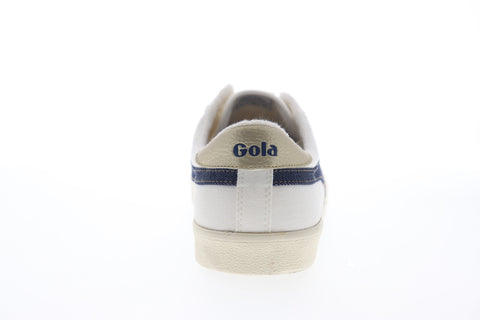 Gola Tennis Mark Cox Selvedge CMB006 Mens Beige Tan Lifestyle Sneakers Shoes