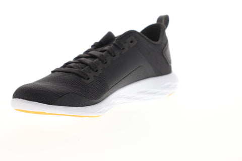 Reebok Astroride Walk CN0858 Womens Black Canvas Low Top Walking Athletic Shoes