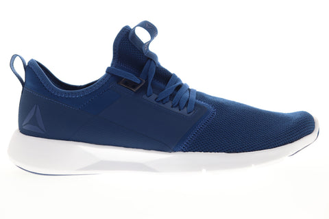 Reebok Plus Lite 2.0 CN2620 Mens Blue Canvas Lace Up Athletic Running Shoes