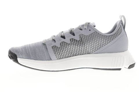 Reebok Fusium Run CN2930 Womens Gray Canvas Low Top Athletic Running Shoes