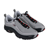 Reebok Daytona Dmx Mens Gray Mesh Low Top Lace Up Sneakers Shoes