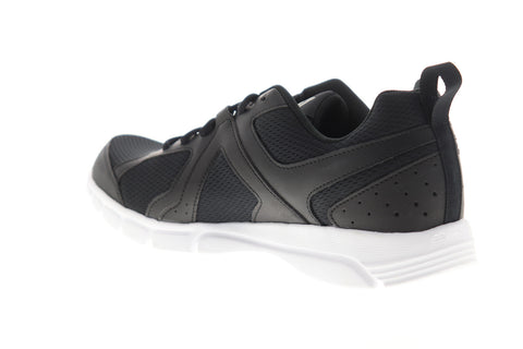 Reebok 3D Fusion TR CN4118 Mens Black Mesh Low Top Athletic Running Shoes