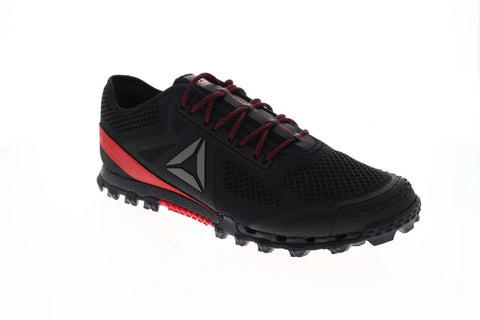 Reebok All Terrain Super 3.0 Stealth Mens Black Mesh Athletic Gym Running Shoes