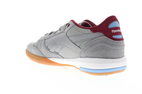Reebok Unphased Pro CN7043 Mens Gray Suede Low Top Lifestyle Sneakers Shoes