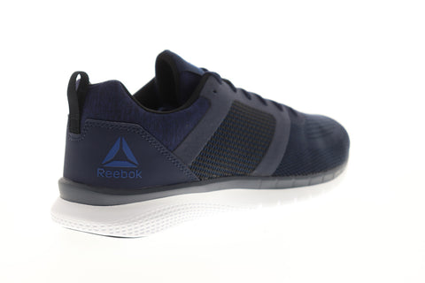 Reebok PT Prime Run 2.0 CN7113 Mens Blue Mesh Lace Up Athletic Running Shoes