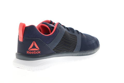 Reebok PT Prime Run 2.0 CN7144 Womens Blue Mesh Low Top Athletic Running Shoes