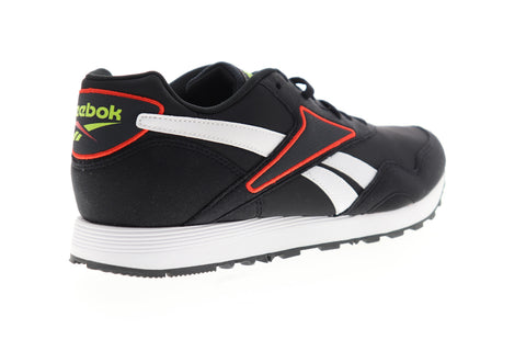 Reebok Rapide MU CN7521 Mens Black Suede Low Top Lifestyle Sneakers Shoes