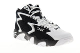 Reebok Mobius Og MU CN7884 Mens White Lace Up Athletic Gym Basketball Shoes