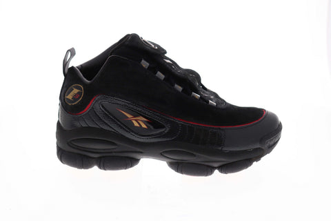 Reebok Iverson Legacy CN8404 Mens Black Athletic Gym Basketball Shoes