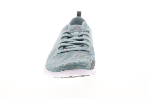 Reebok Astroride Walk CN0859 Womens Blue Canvas Low Top Walking Athletic Shoes