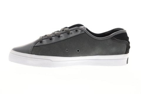 Creative Recreation Kaplan Mens Gray Leather Low Top Lace Up Sneakers Shoes