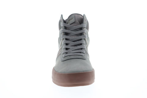 Creative Recreation Moretti Mens Gray Suede Casual High Top Sneakers Shoes