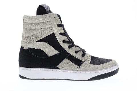 Creative Recreation Osano Mens Black Suede High Top Lace Up Sneakers Shoes