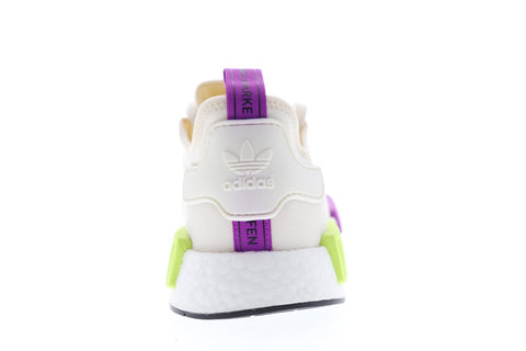 Adidas Nmd R1 Mens Beige Textile Low Top Lace Up Sneakers Shoes