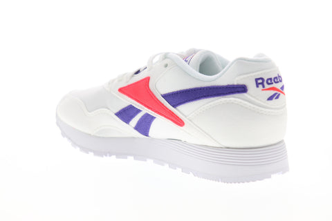 Reebok Rapide MU DV3805 Mens White Low Top Lace Up Lifestyle Sneakers Shoes